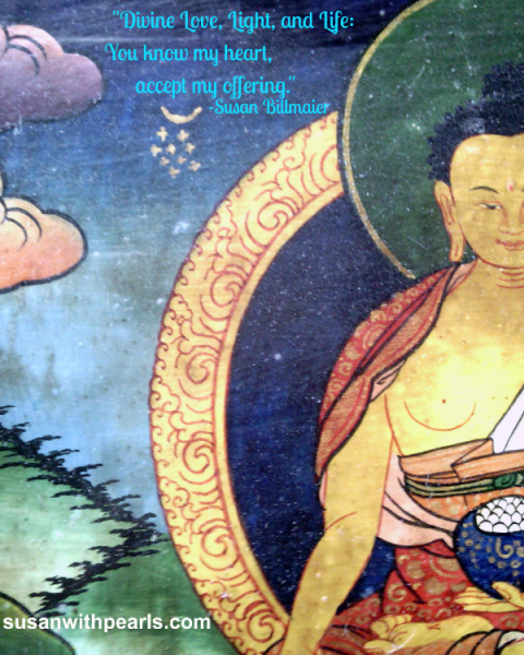 Original Tibetan artwork Artist unknown Edited for susanwithpearls.com June 2013